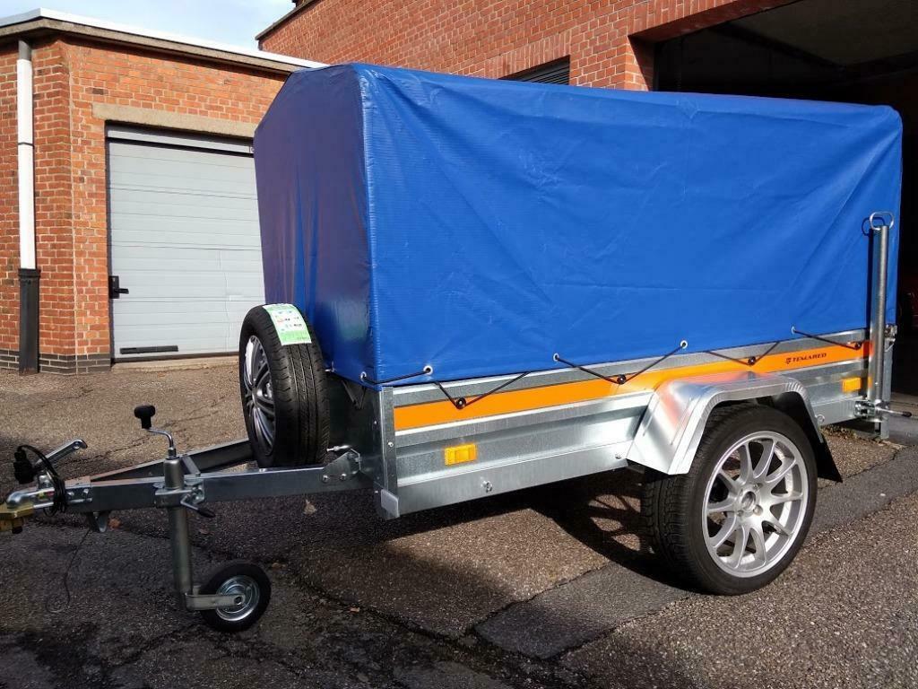 Aanhangwagen Enkelas L202cm X B106cm X H110cm