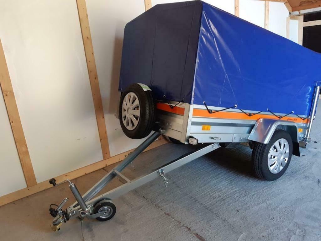 Aanhangwagen Kiep Enkelas L205cm X B125cm X H110cm