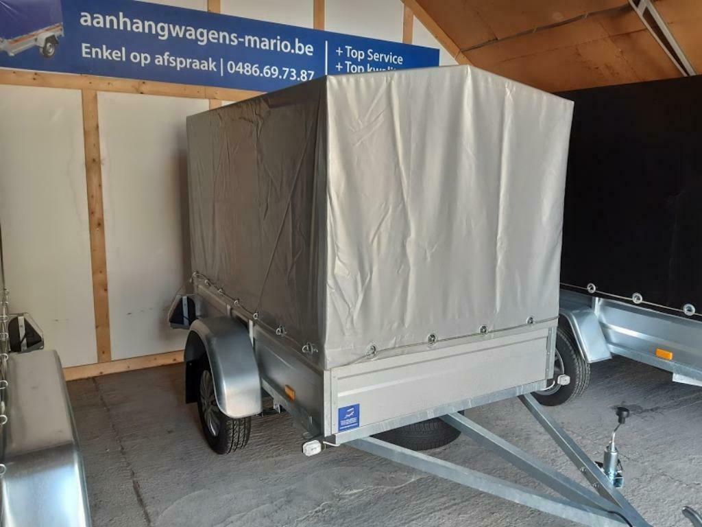 Aanhangwagen Trailer Remorque Enkelas L203cm X B126cm X H140cm