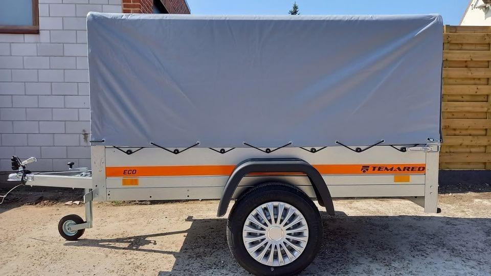 Aanhangwagen / Trailer / Remorque / Remorca / Enkel As L202xb106xh110
